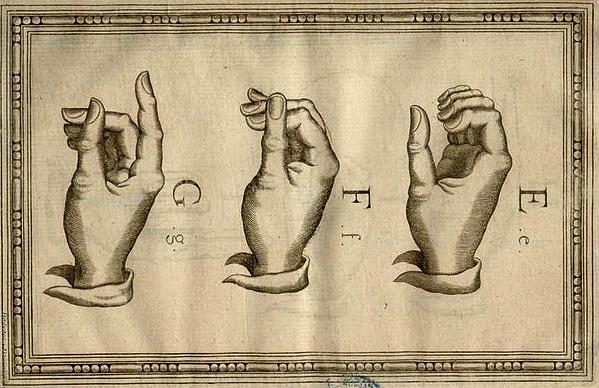 388px-Lengua_de_Signos_(Bonet,_1620)_E,_F,_G