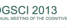 CogSci 2013 – the others